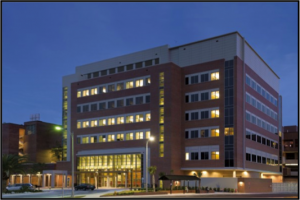 The Biomedical Sciences Building at University of Florida